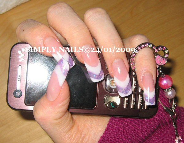 Zebra Nail Designs - Acrylic Nails | Popular Tattoo Designs