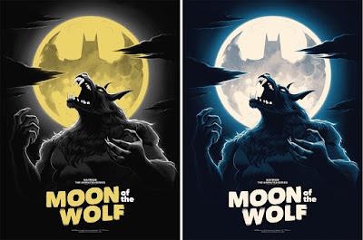 "Batman: The Animated Series ""Moon of the Wolf"" Screen Print by Phantom City Creative x Mondo"