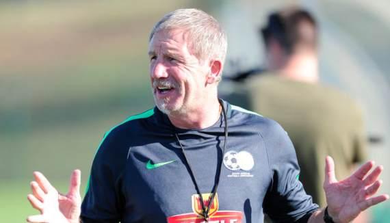 Bafana coach Stuart Baxter