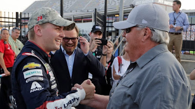 Byron becomes youngest ever to capture Coca-Cola 600 pole