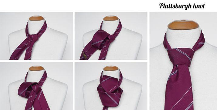 Plattsburgh tie knot instructions