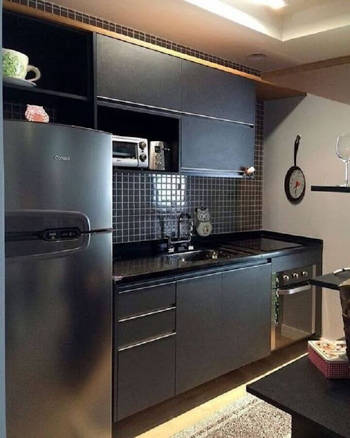 small kitchen decoration idea