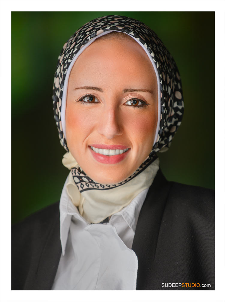 Professional Headshot for Michigan Medical Residency Middle Eastern Doctor Clinic Website SudeepStudio.com Ann Arbor Portrait Photographer