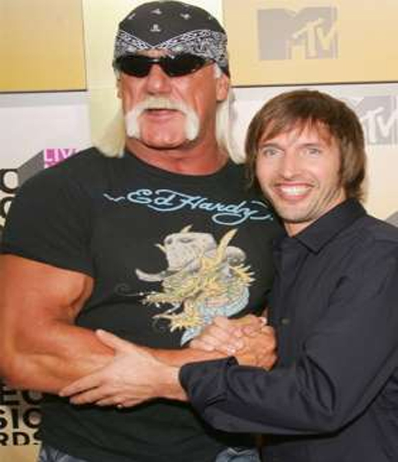 James Blunt e Hulk Hogan