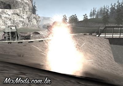 novas explosões para gta sa