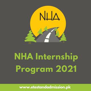 NHA Internship Program 2021