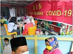 BIN Daerah Riau Vaksin Santri Pondok Pesantren dan Door to Door Masyarakat