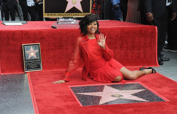 Video: Taraji P. Henson gets Emotional While Receiving Hollywood Star