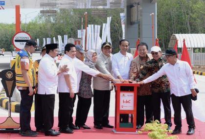 Resmikan Ruas Tol Terpanjang, Presiden Jokowi Targetkan Tol Lampung – Aceh Selesai 2024