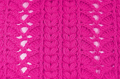 6 - Crochet Imagen Majovel crochet puntada para cobijas, mantas , jerseis y chambritas.