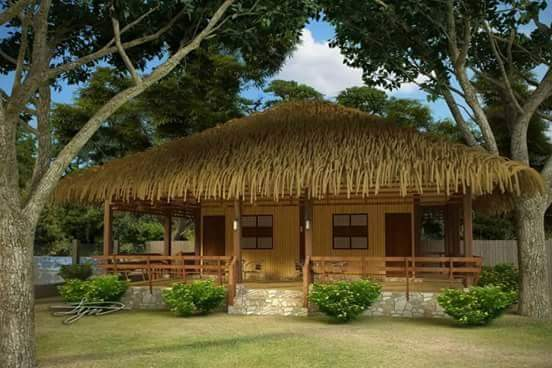 50 images of different bahay kubo or small nipa hut for Small hut design