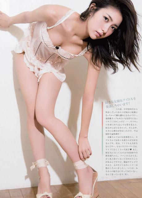 Hot girls Ren Ishikawa sexy newbie gavure idol 5
