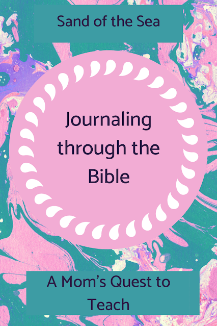 Text: Journaling Through the Bible: Sand of the Sea; A Mom's Quest to Teach