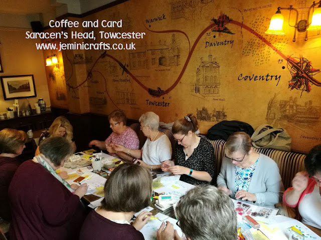 #coffeeandcard session with Jemini Crafts