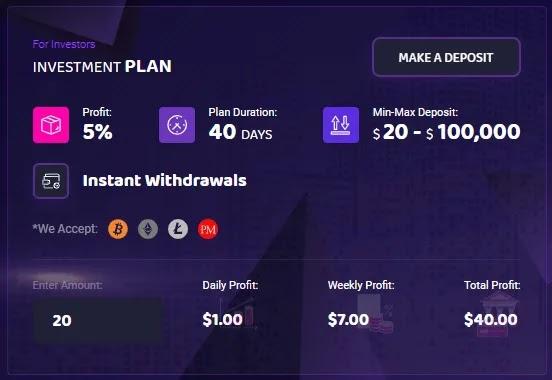 Инвестиционные планы Block Bank