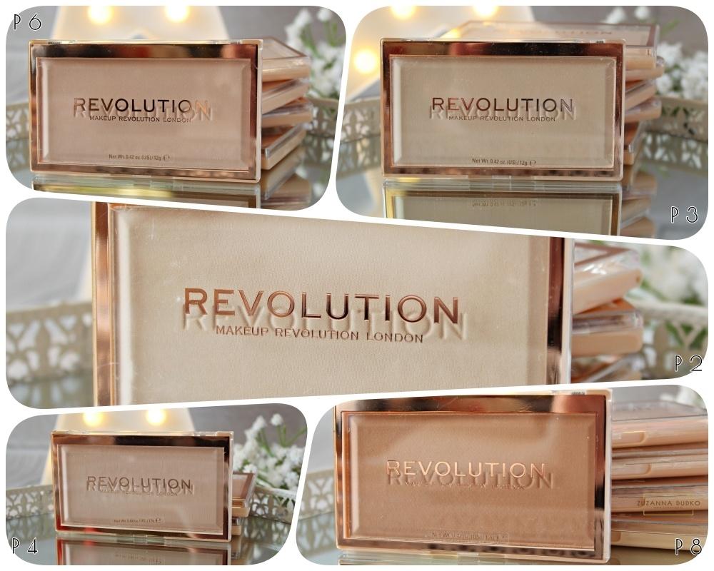 Pudry do twarzy Makeup Revolution Matte Base Powder