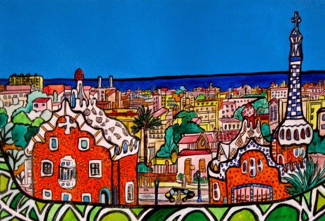 Испанский художник. Joaquin Lecina