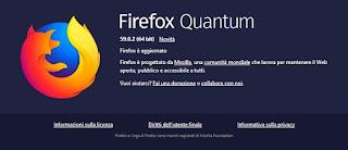 Aggiornamenti Firefox