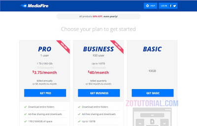 Daftar Akun dan Cara Upload File ke MediaFire Gratis 10GB! Storage