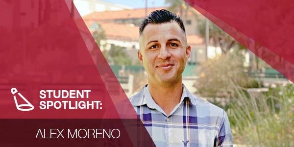Special education graduate student Alex Moreno