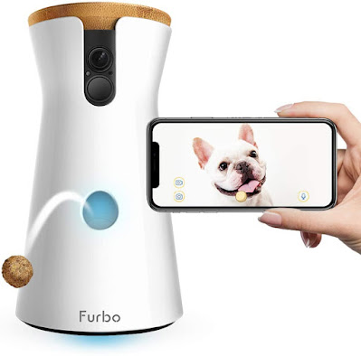 Wifi Pet Camera and 2-Way Audio, Designed for Dogs