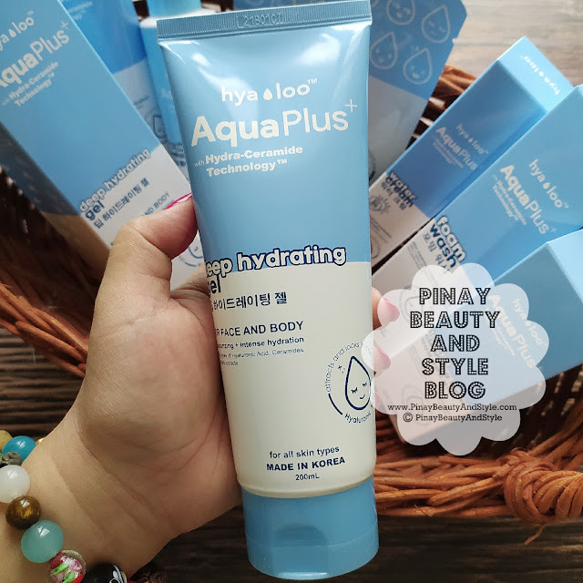 Hyaloo Aqua Plus Deep Hydrating Gel Review Price