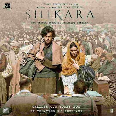 Shikara Movie | Shikara Trailer | Shikara Movie - The Untold Story Of Kashmiri Pandits