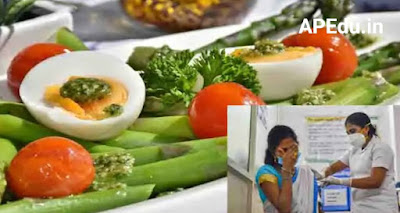 Diet after Covid Vaccine :