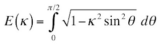 The definition of an elliptic integral.