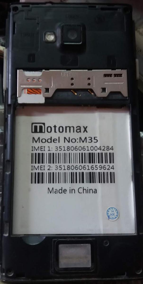 MOTOMAX M35 FLASH FILE FIRMWARE (STOCK ROM)