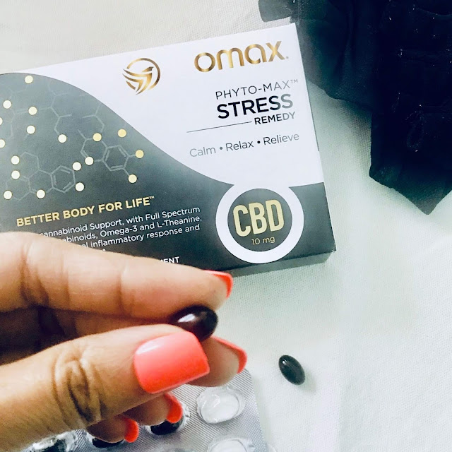 Omax Health CBD supplements