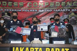 Polres Metro Jakbar Berhasil Menangkap Spesialis Copet Di Mall