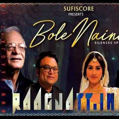 Bole Naina by Gulzar Sahab lyrics