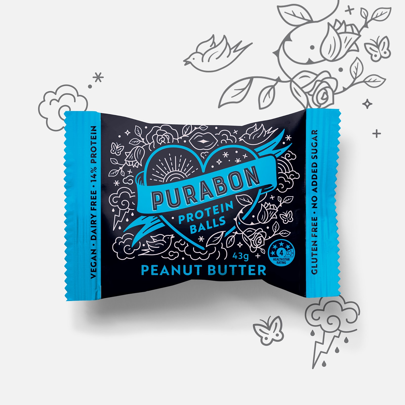 Purabon Protein Balls On Packaging Of The World Creative Package Design Gallery
