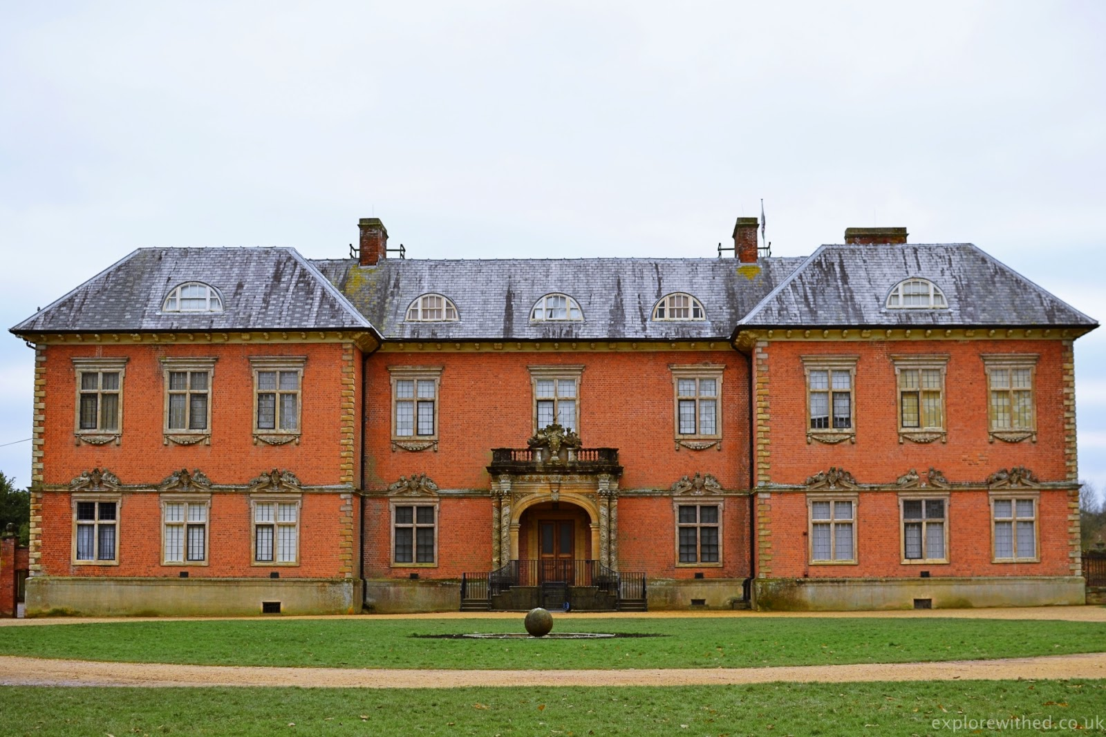 Tredegar House National Trust building in Newport