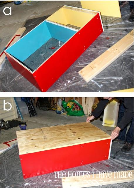 diy fabriquez un bac sable. Black Bedroom Furniture Sets. Home Design Ideas