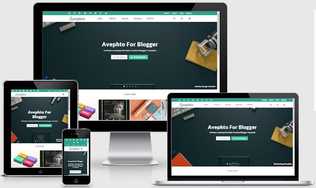 Share free Avephto Blogger Templates by Themeforest