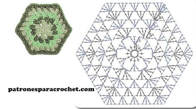 patron-hexagono-ganchillo