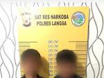 Gerebek Rumah di Tualang Tengoh, Dua Tersangka Sabu di Amankan Polisi