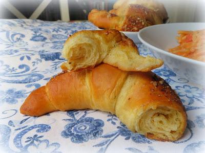 Caesar Croissant Rolls