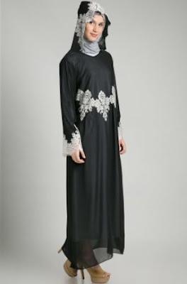 Baju muslim motif model masa kini