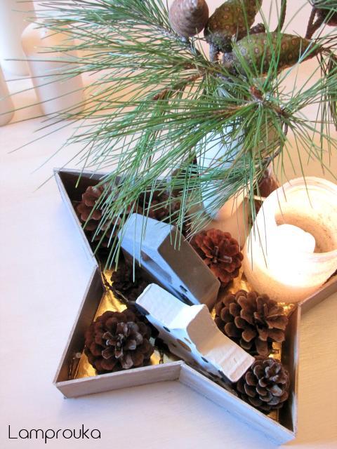 Πώς να φτιάξεις ένα χριστουγεννιάτικο δίσκο αστέρι.
