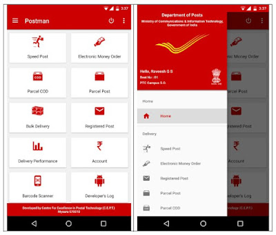 How Postman Mobile Application (PMA) Looks