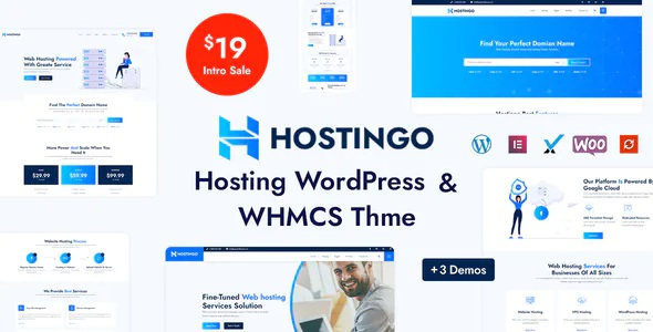 Best Hosting WordPress and WHMCS Theme