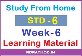 Std 6 homework pdf week 6 download