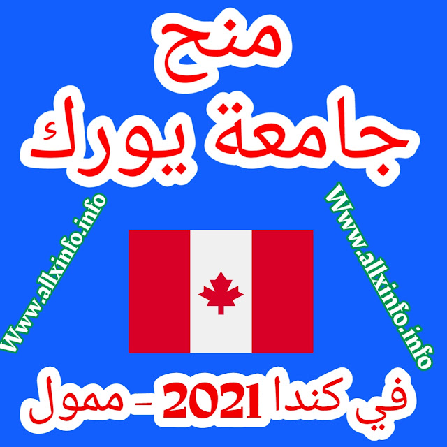 منح جامعة يورك في كندا 2021 - ممول