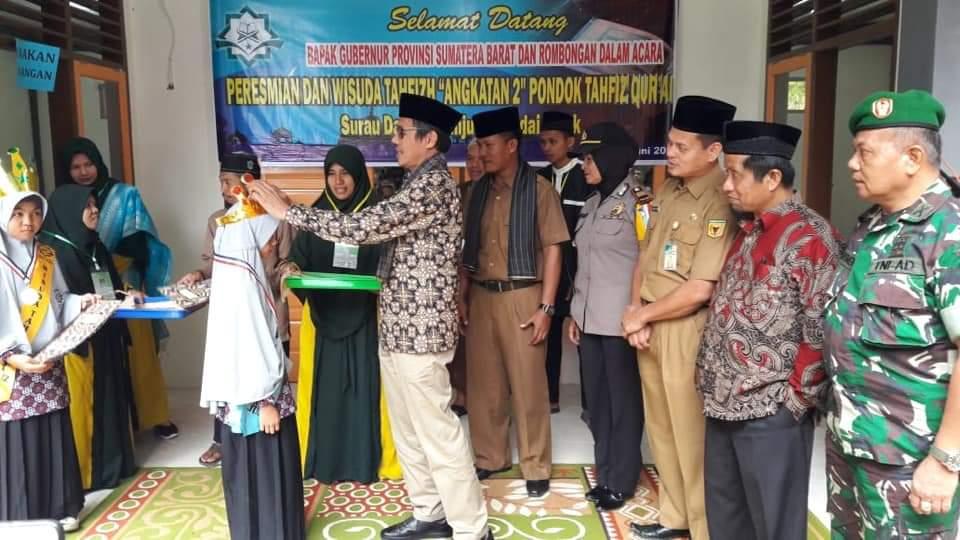 Gubernur Sumatera Barat: Mari Biasakan Menghafal Alquran