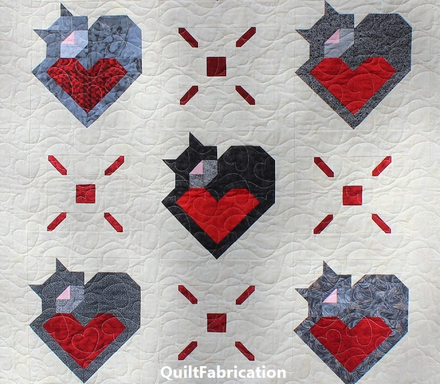 Wrap Up Some Love alternate blocks by QuiltFabrication