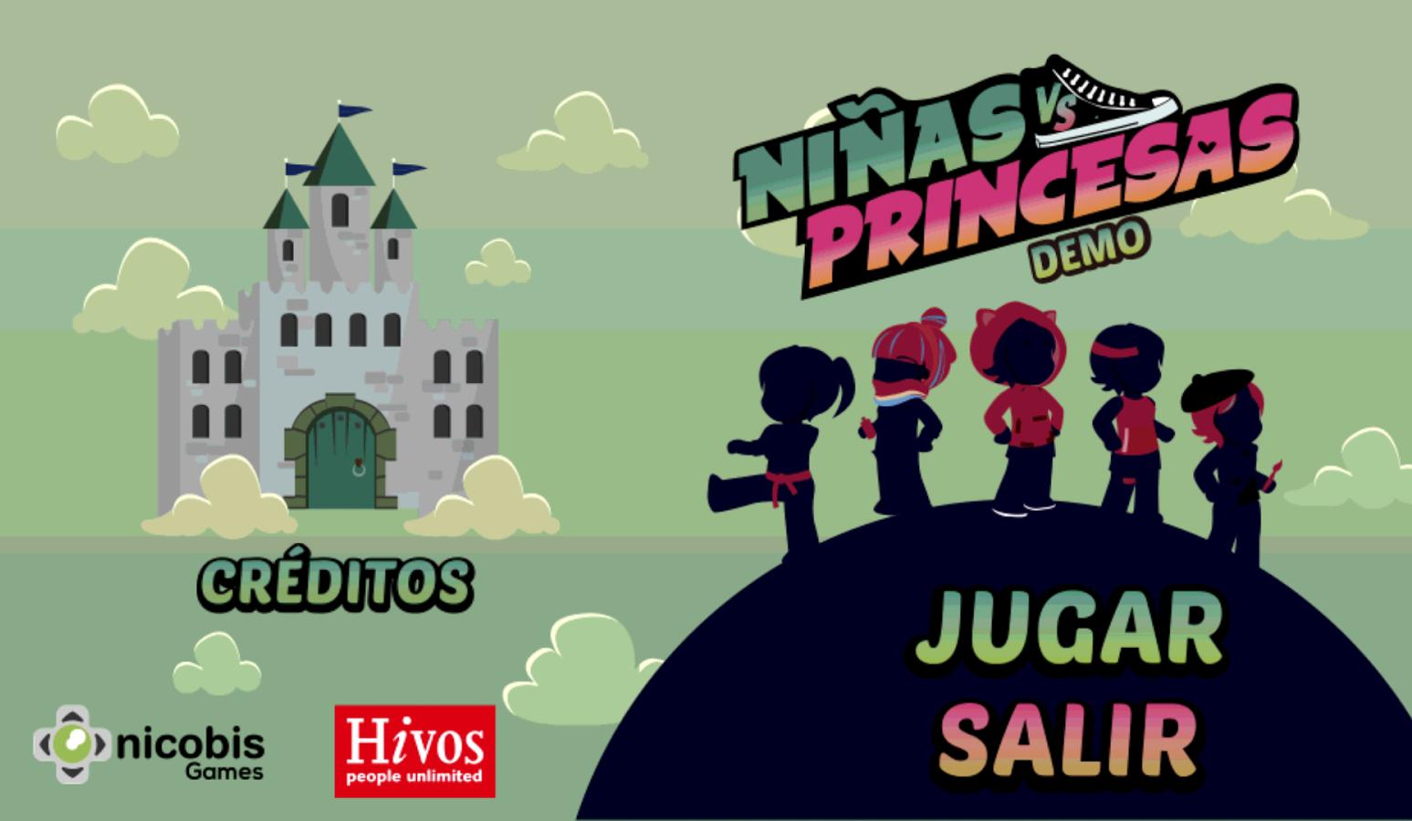 Ninas Vs Princesas De Nicobis Games Nicobis Programas