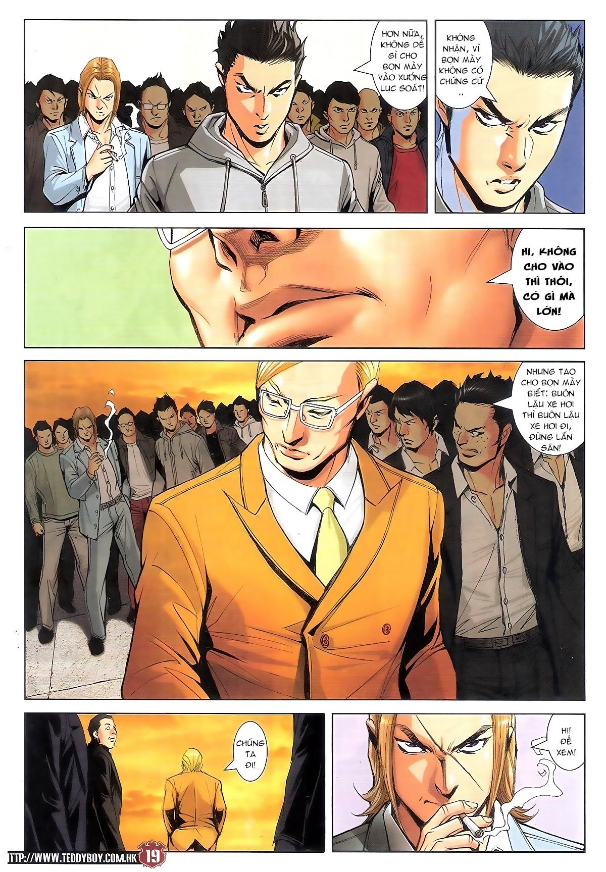 Người Trong Giang Hồ chapter 1795: hoàng tiên sinh trang 18